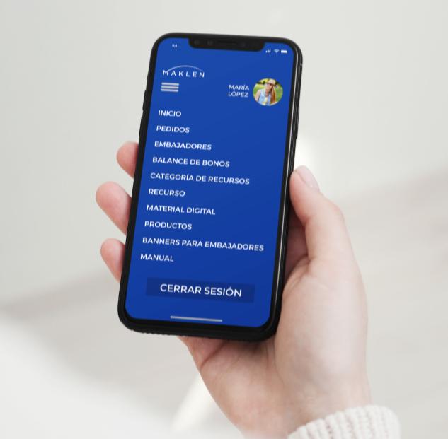Red Core Technologies SC maklen apps Menu