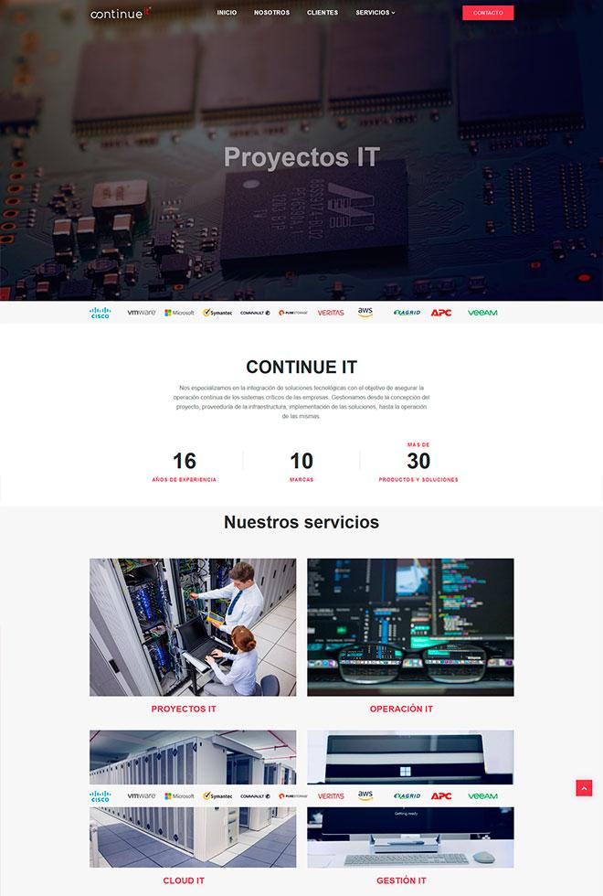 Red Core Technologies SC CONTINUE IT Inicio